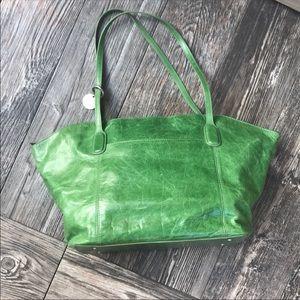 """HOBO """"Ivy"""" shoulder bag in succulent green"""